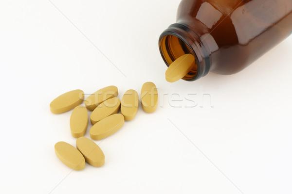Hapları şişe tıbbi tıp stüdyo hap Stok fotoğraf © jakgree_inkliang
