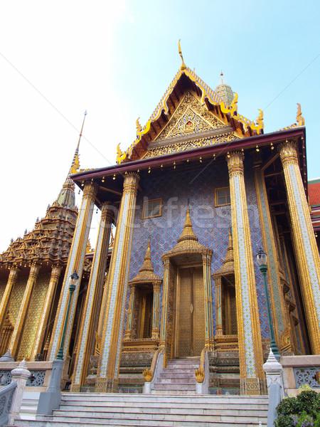 дворец Бангкок Таиланд домой золото Будду Сток-фото © jakgree_inkliang