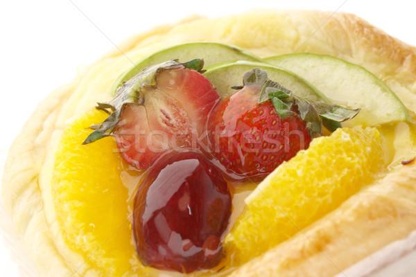 Frischen Mischung Obst pie rot Erdbeere Stock foto © jakgree_inkliang