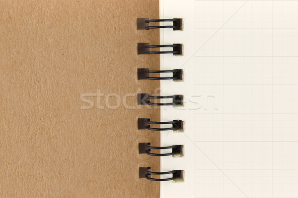 notebook page with grid Stock photo © jakgree_inkliang