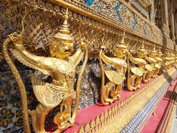 тайский демон дворец Бангкок Таиланд путешествия Сток-фото © jakgree_inkliang