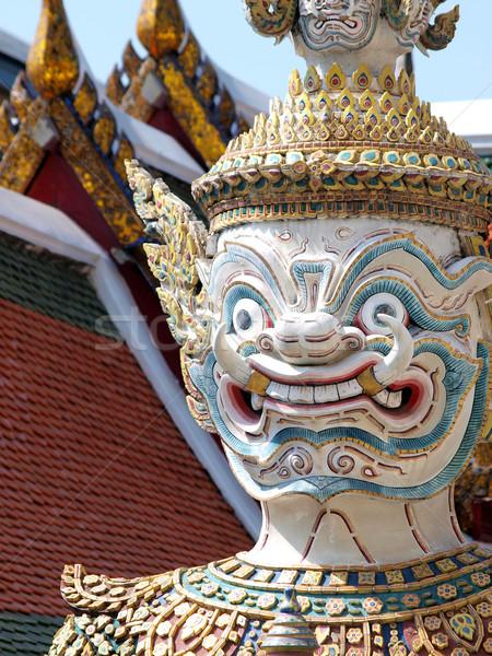 タイ 鬼 宮殿 バンコク タイ 旅行 ストックフォト © jakgree_inkliang