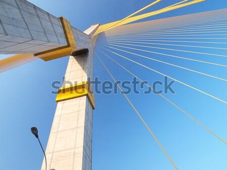 Mega sling Bridge,Rama 8, in bangkok Thailand Stock photo © jakgree_inkliang