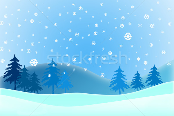 Merry Christmas, Winter Stock photo © jakgree_inkliang