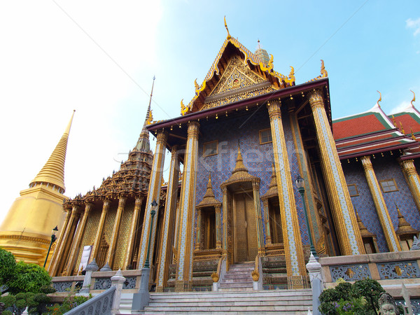 宮殿 バンコク タイ ホーム 金 仏 ストックフォト © jakgree_inkliang