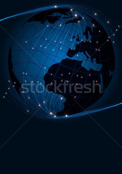 Stock photo: Optical Fibers
