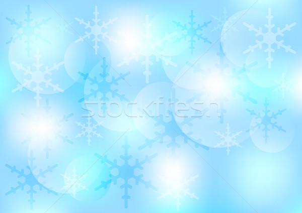 Winter / Christmas Background Stock photo © jamdesign