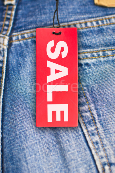 Jeans With Sale Tag Stock photo © jamdesign