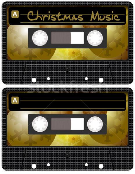 Christmas Music Tape Stock photo © jamdesign