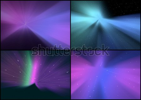 Collection of Abstract Backgrounds Stock photo © jamdesign