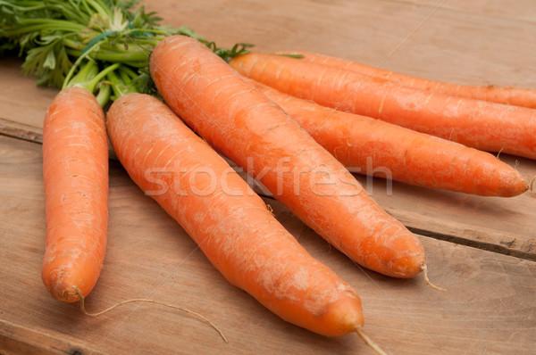 Raw Carrots Stock photo © jamdesign