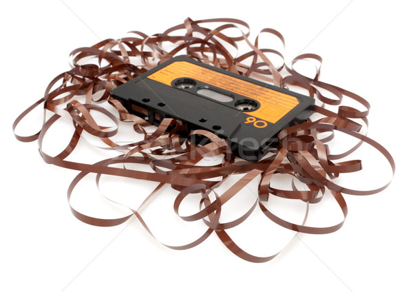Retro Audio Cassette Tape Stock photo © jamdesign