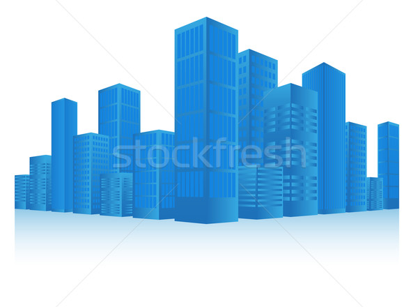 Cityscape Stock photo © jamdesign
