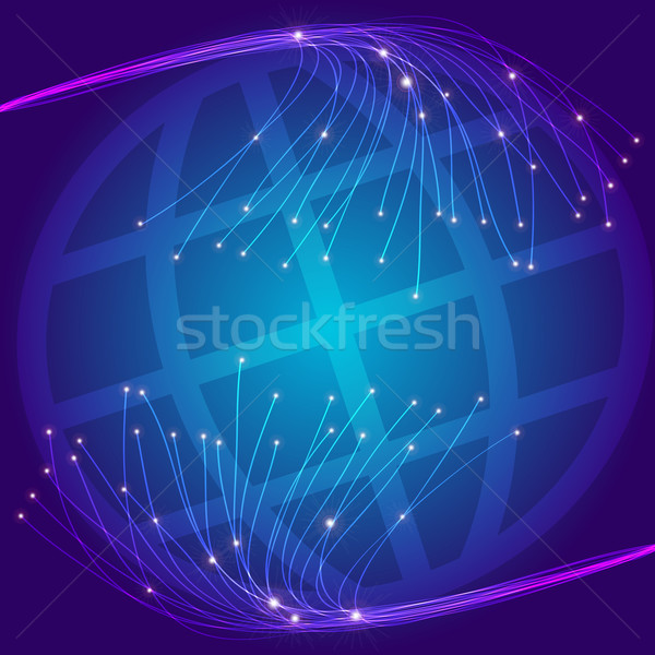 Stock photo: Optical Fibers