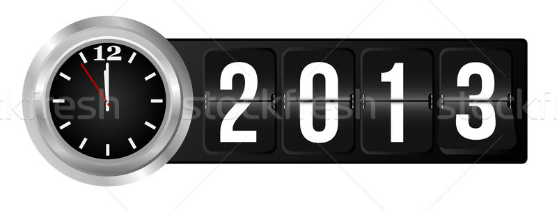 New Year 2013 Stock photo © jamdesign
