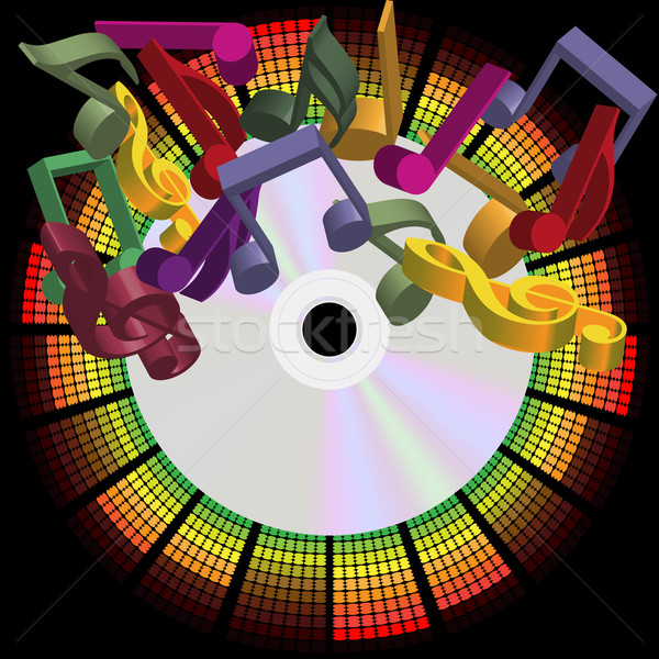 Music Party Background Stock photo © jamdesign