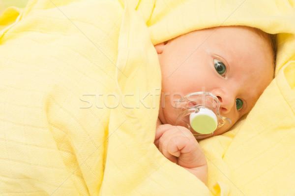 Newborn Baby Stock photo © jamdesign