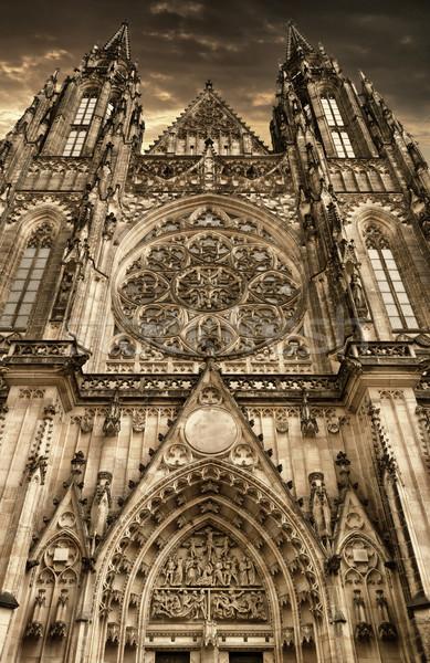 Saint Vitus Cathedral, Prague Stock photo © jamdesign