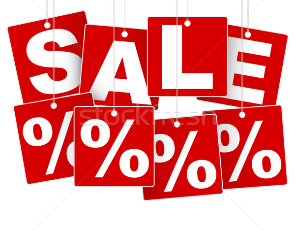Sale Sign Stock photo © jamdesign