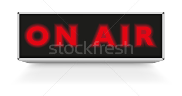 Stock photo: On Air Sign