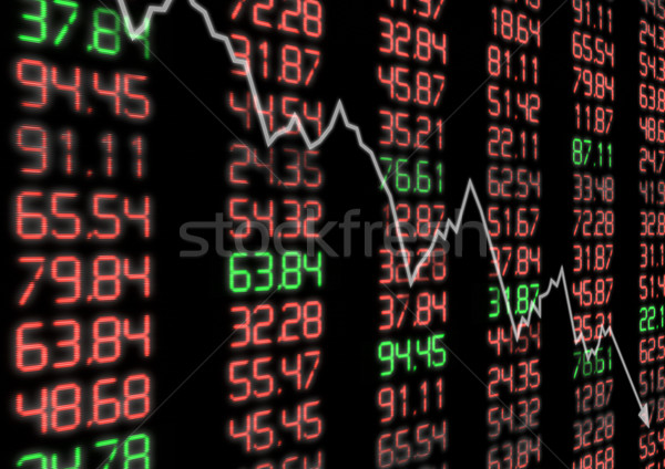Stock Market Down Stock photo © jamdesign