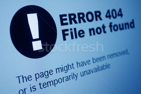 404 Error Stock photo © jamdesign