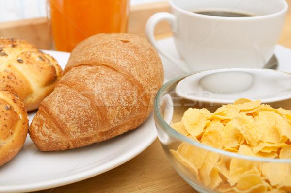 Breakfast in Bed Stock photo © jamdesign