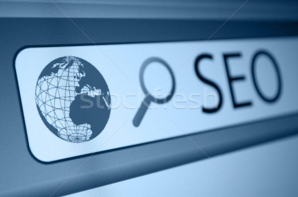 Keresőoptimalizálás seo felirat böngésző ablak technológia Stock fotó © jamdesign