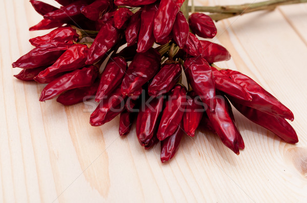 Red Chilli Peppers Stock photo © jamdesign