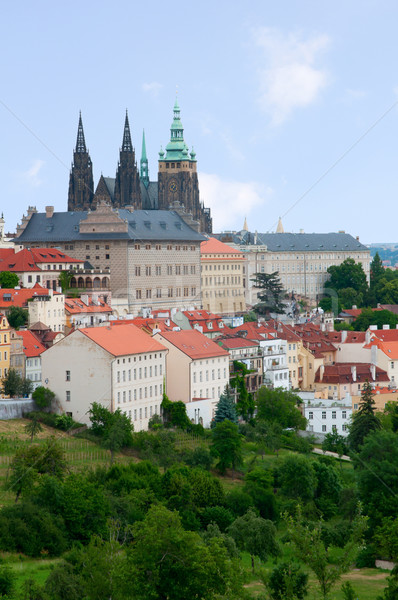 Prague Castle, Czech Republic Stock photo © jamdesign