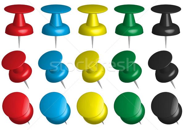 Push Pins Stock photo © jamdesign
