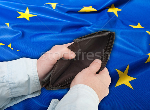 Stock photo: Financial Crisis in European Union