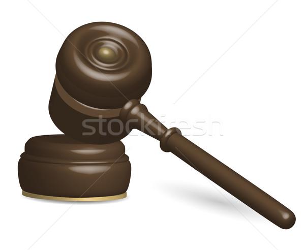 Judge Gavel Stock photo © jamdesign