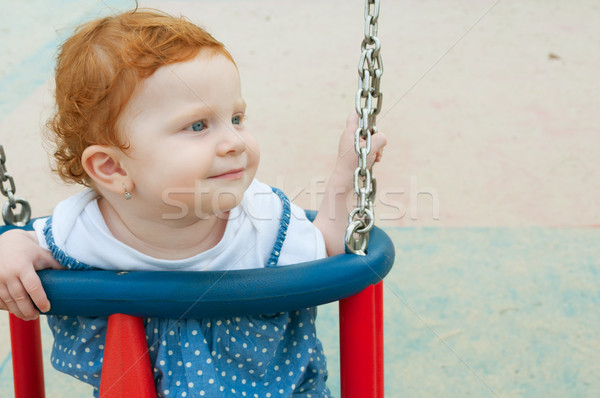 Baby Swing Stock photo © jamdesign