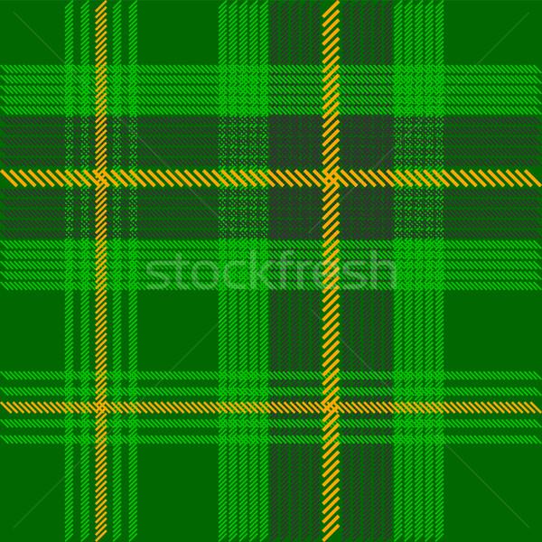 Green Tartan Stock photo © jamdesign
