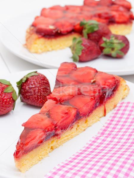 Strawberry Cake Stock photo © jamdesign