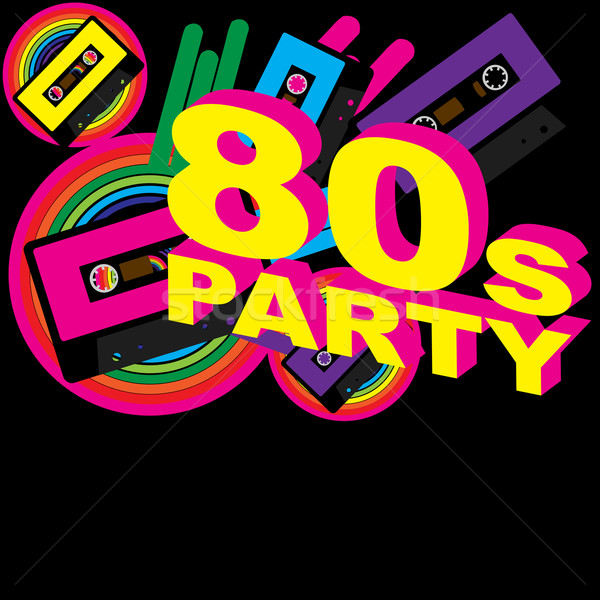 Stock photo: Retro Party Background