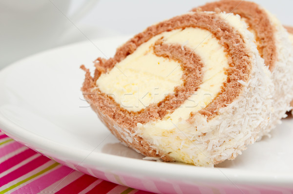 Swiss Roll Stock photo © jamdesign