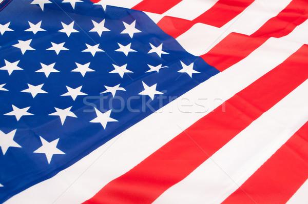 Bayrak ABD detay ipeksi Amerika Birleşik Devletleri Amerika Stok fotoğraf © jamdesign