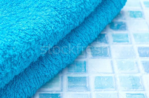 Towels in Bathroom Stock photo © jamdesign