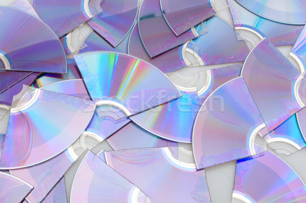 Broken CDs Stock photo © jamdesign
