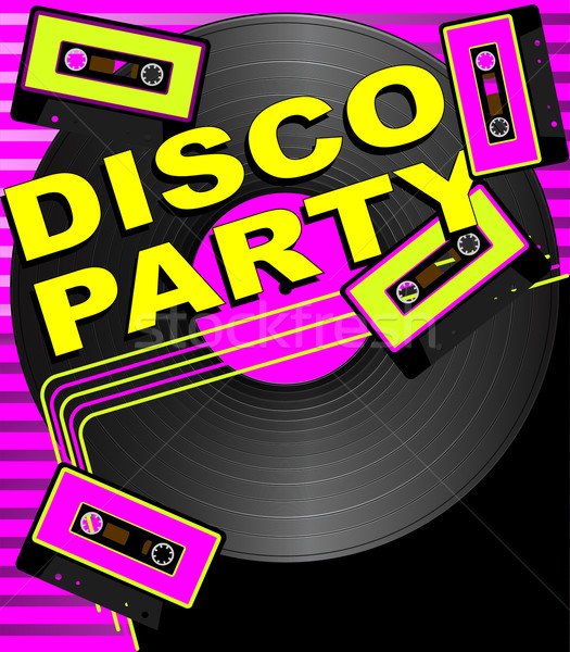 Retro Party Background Stock photo © jamdesign