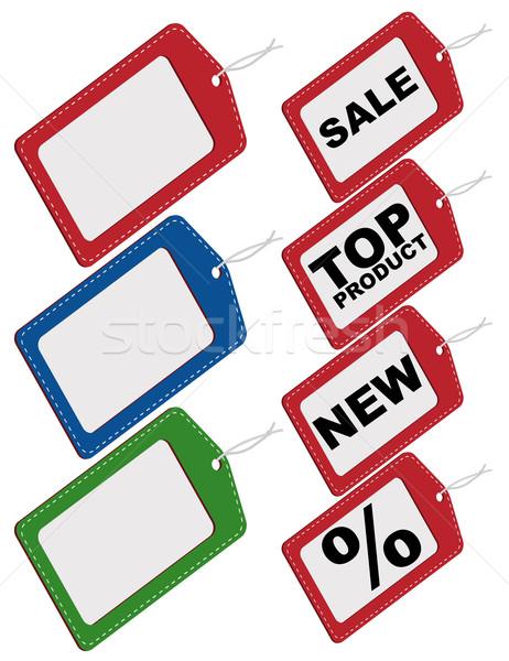 Set of Tags Stock photo © jamdesign