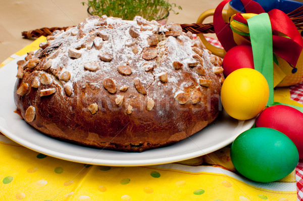 Stock photo: Easter Cake