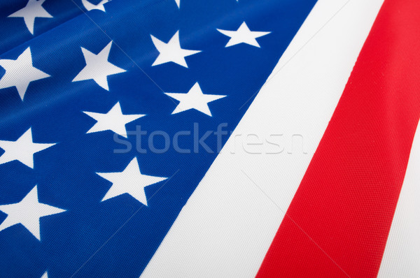 USA Flag Stock photo © jamdesign