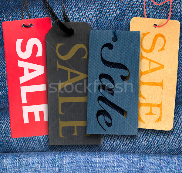 Sale Tags Stock photo © jamdesign