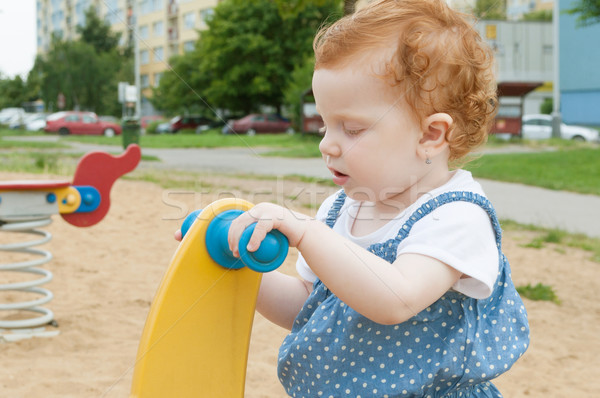 Playful Baby Stock photo © jamdesign