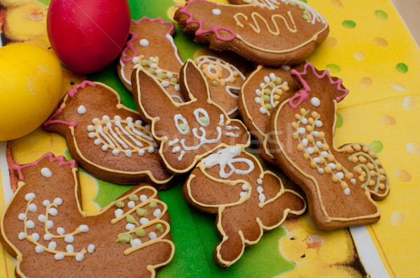 Stock photo: Easter / Spring Gingerbread