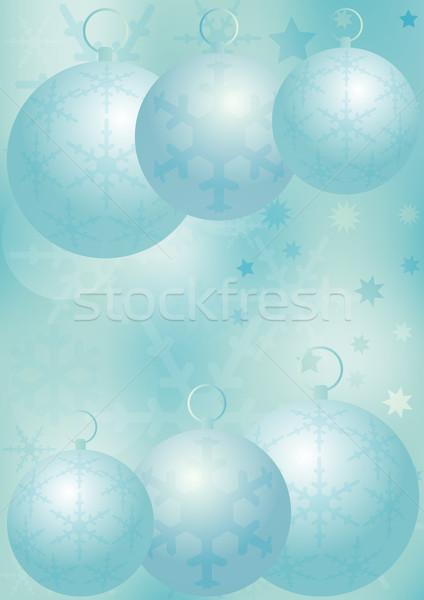 Christmas / Winter Background Stock photo © jamdesign