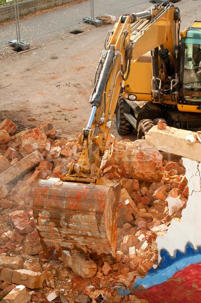 Digger Stock photo © jamdesign